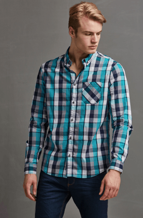 Outfits casuales con jeans - camisa
